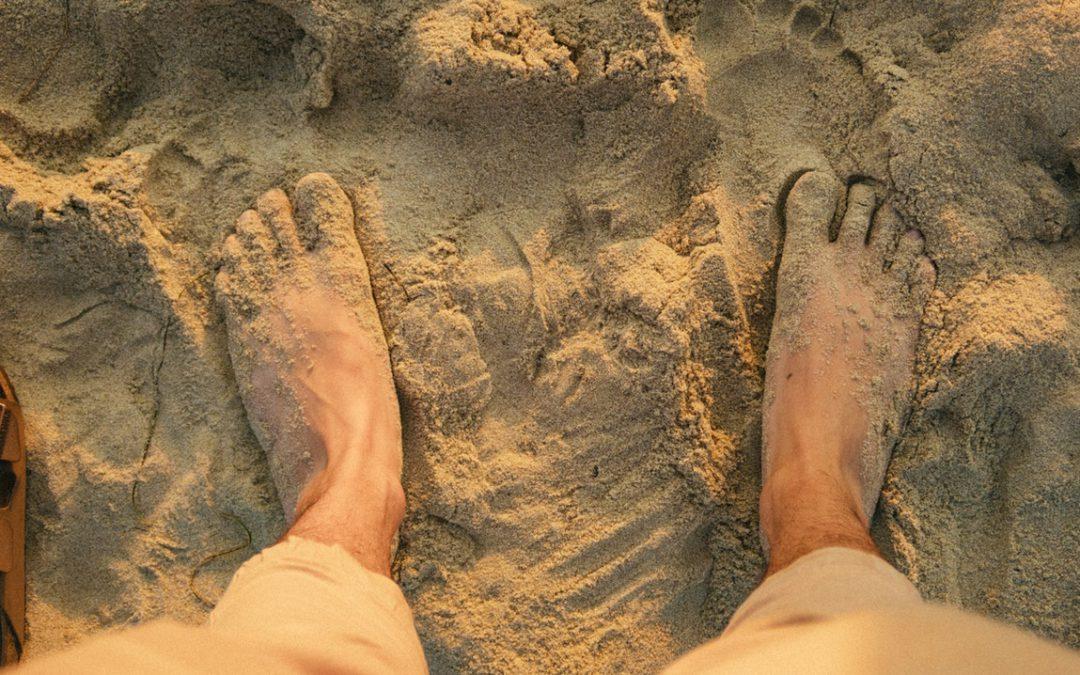 قدم بہ قدم صحت : جوتوں کے بغیر